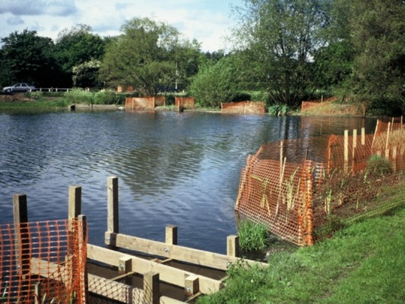Harlow Council, Harlow, Essex lake restoration