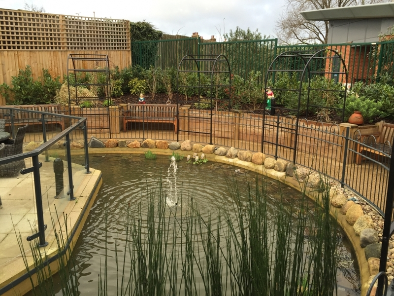 Communal Pond filter upgrade and aquatic vegetation installation Harrow, Middlesex