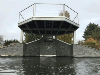 Koi pond build Felsted, Essex.