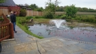 Ongar, Essex weed removal and fountain install