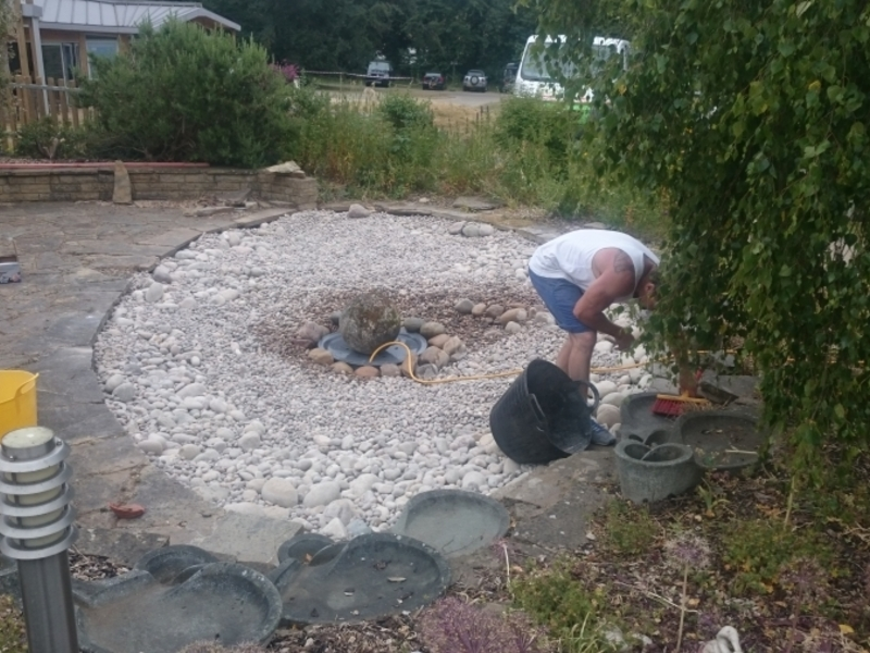 Watford Hertfordshire care home water feature renovation