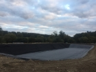 Great Hallingbury, Essex stock pond construction, Firestone EPDM linings, Fish supply and fish transportation