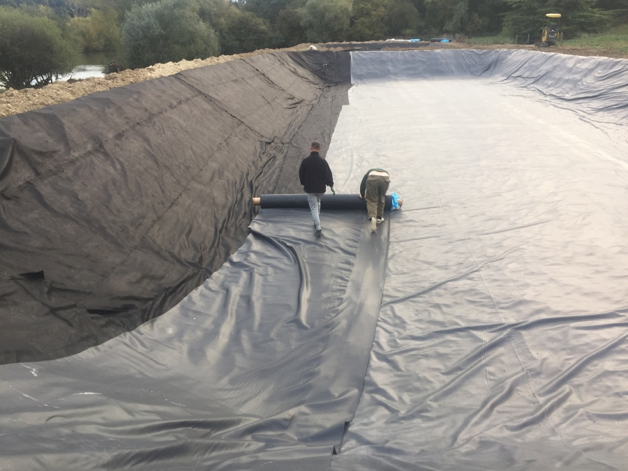 On site Liner Seaming