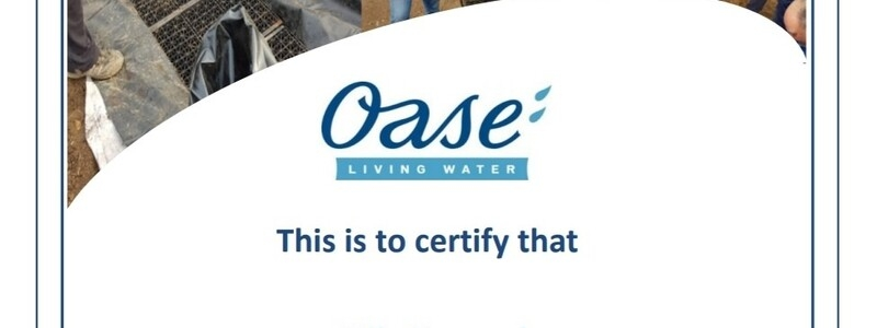 Oase 2020 approved installer course