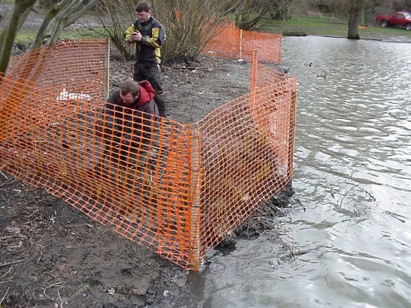 Harlow Council, Harlow, Essex lake restoration