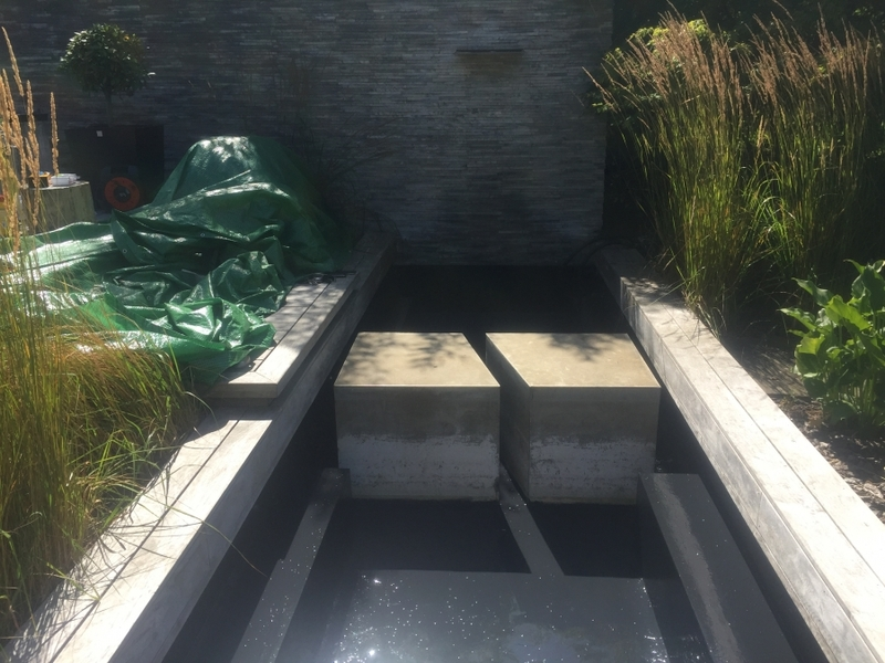 Totteridge, London water feature renovation & re sealing