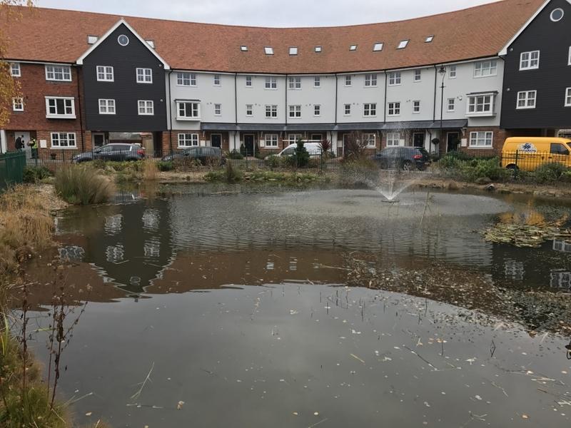 Residential Pond Maintenance, Sandwich, Kent