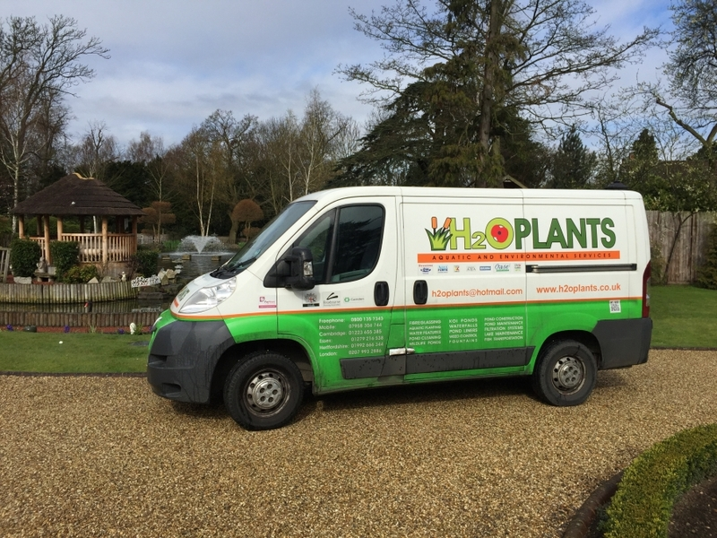 Aerating fountain supply and installation in  Chigwell, Essex