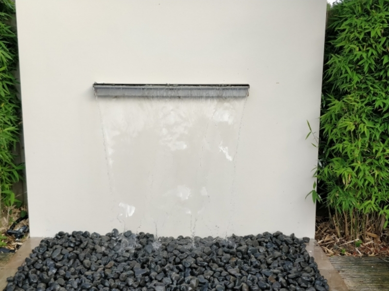 Waterfeature 1 refurbishment in Potters Bar, Hertfordshire