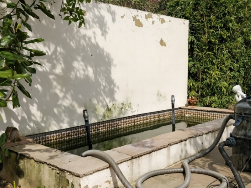 Waterfeature 2 refurbishment in Potters Bar, Hertfordshire