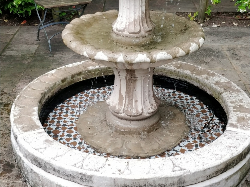 Waterfeature 3 refurbishment in Potters Bar, Hertfordshire