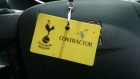 Tottenham Hotspurs Football Club aerating fountain Enfield London