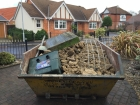 koi pond build, Hockley, Essex