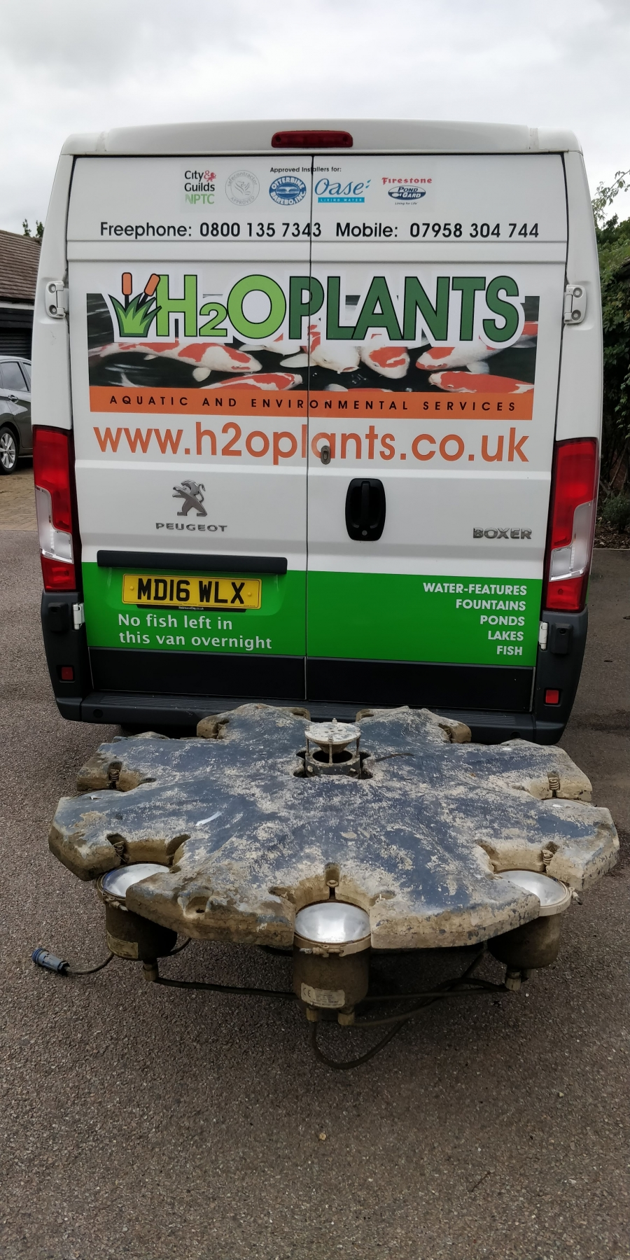 Fountain Repair Stoneley Park Golf Course Middlesex
