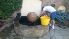 St Johns Wood London water feature clean and pump replacement
